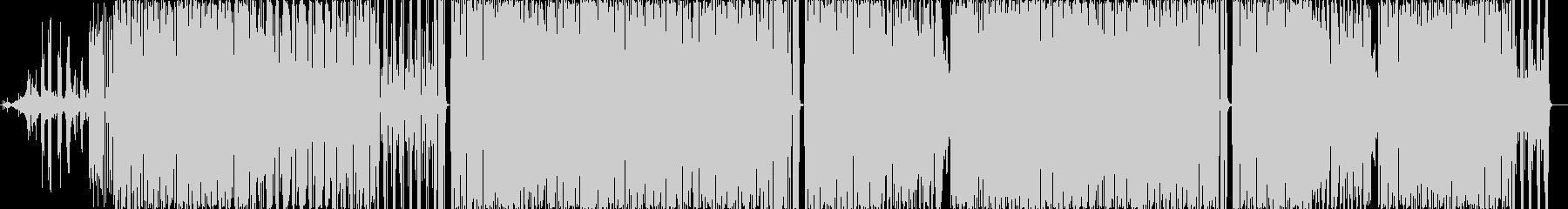 エスニック。レゲエの歌。の未再生の波形