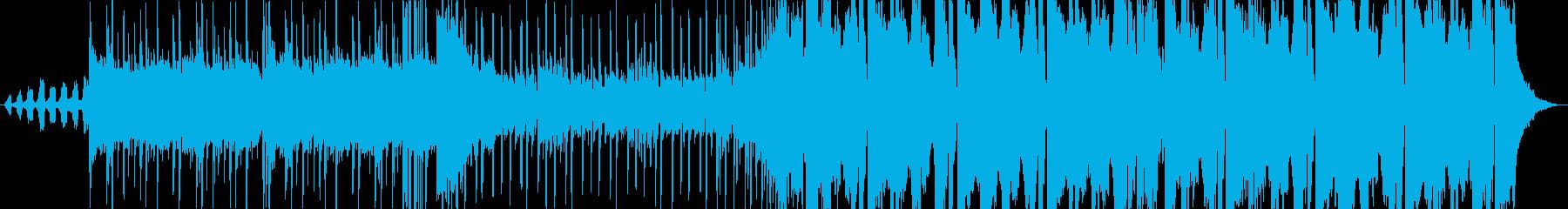 ダークでクールなTrap+Rockの再生済みの波形