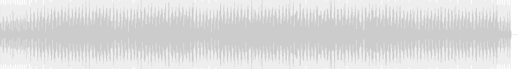 浮遊感のあるインストハウスの未再生の波形