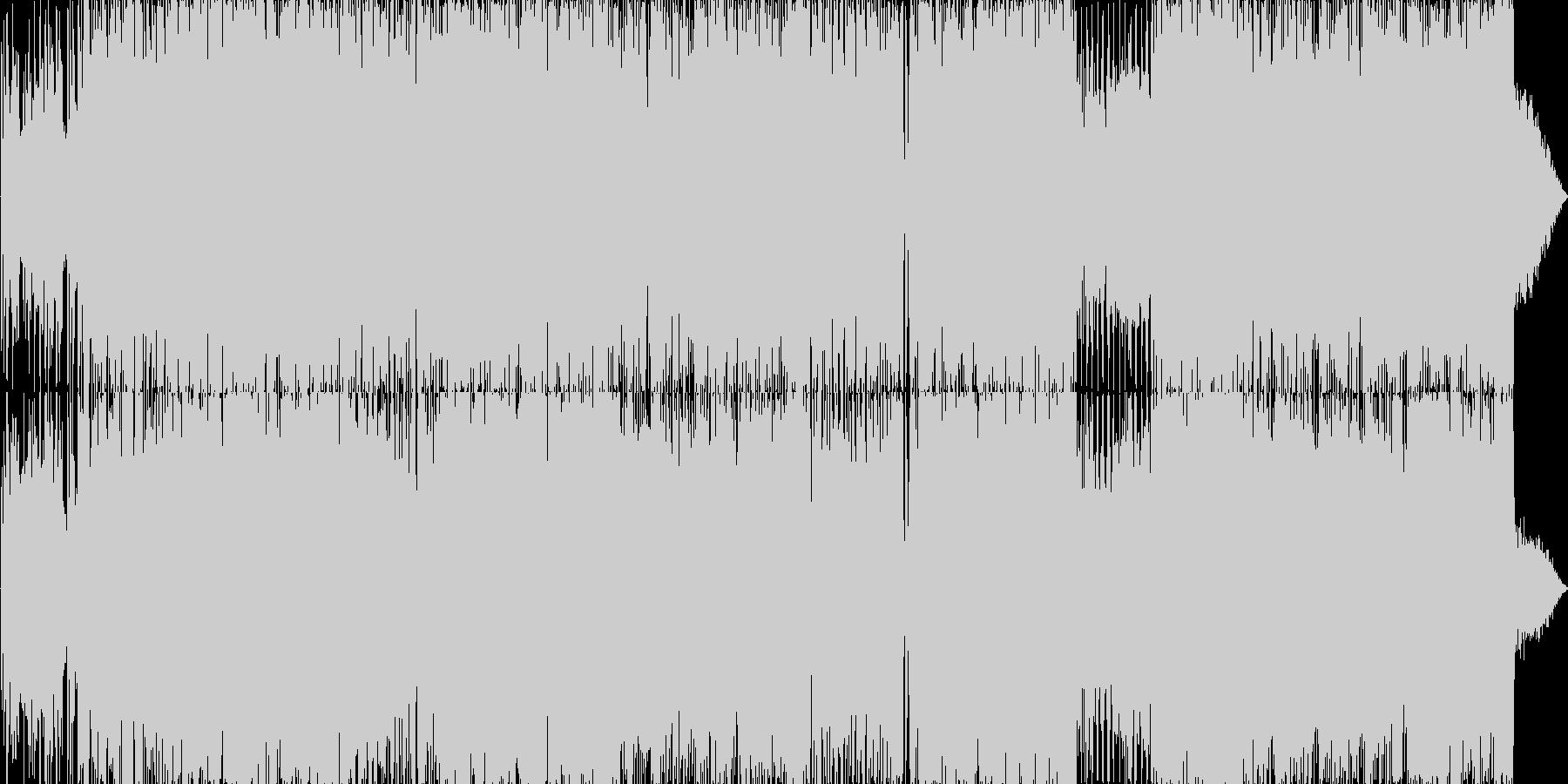 スーパーロボットのテーマ曲風の未再生の波形