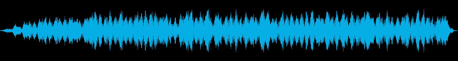 流体の動きの再生済みの波形