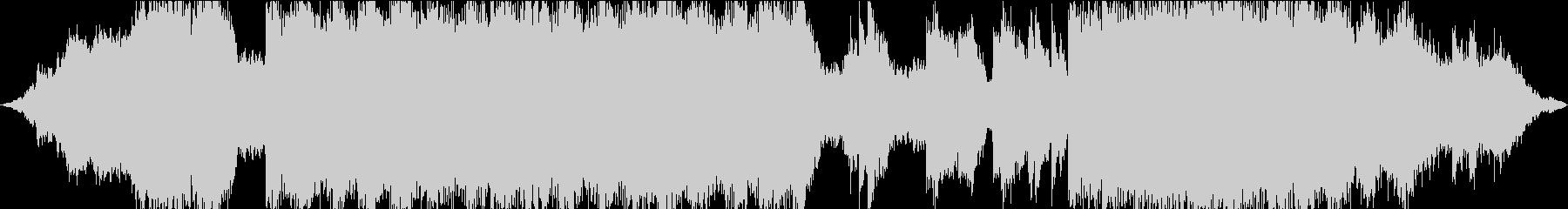空間的ビートレスなチル・シンセウェーブの未再生の波形
