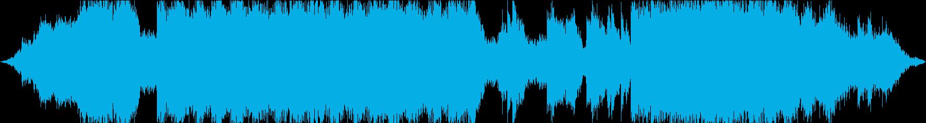 空間的ビートレスなチル・シンセウェーブの再生済みの波形