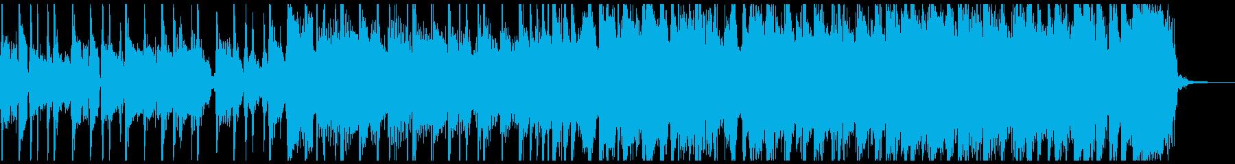 揺れるビートとビッグエンディングの...の再生済みの波形