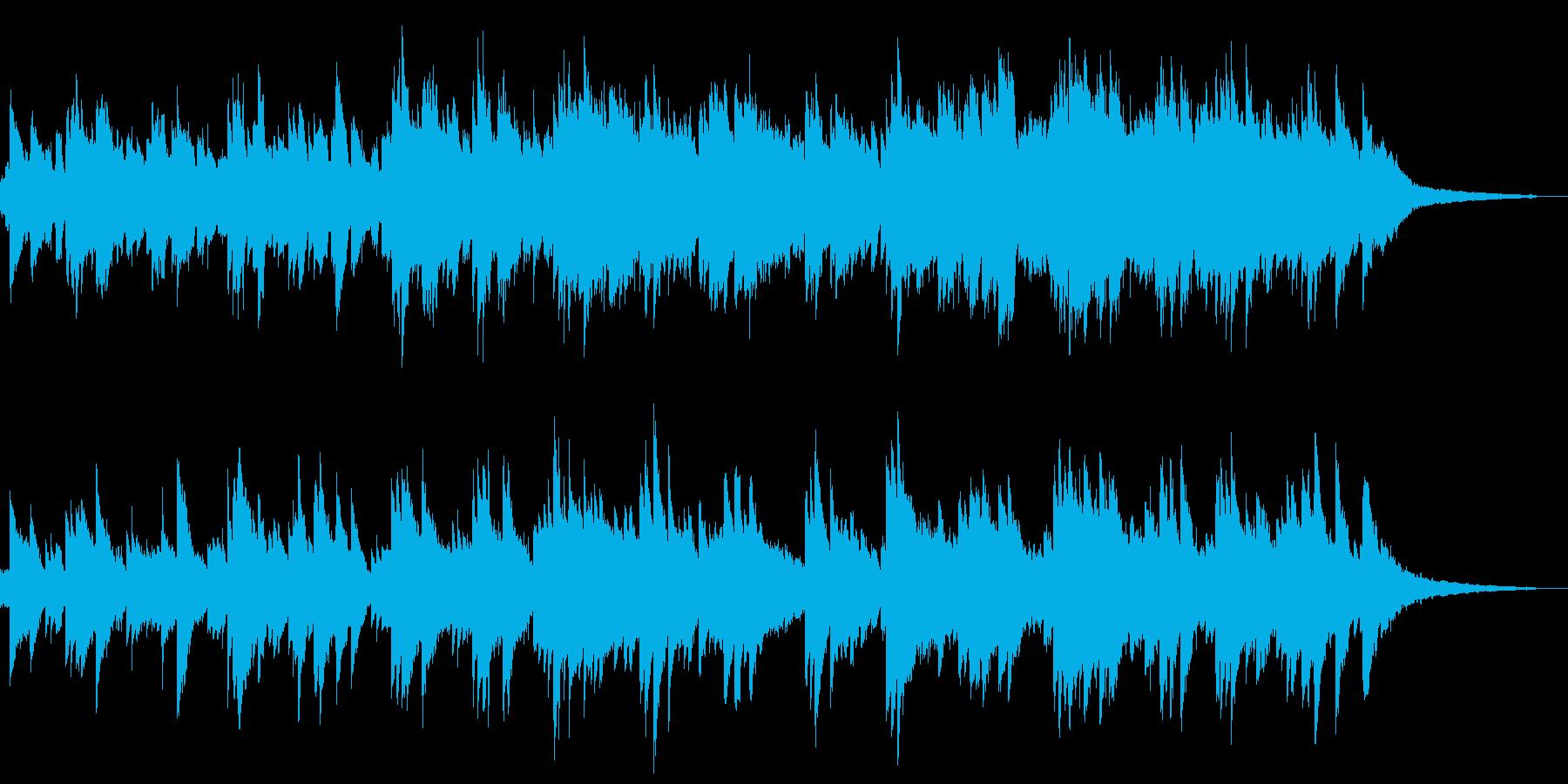 【ピアノソロ】瞑想穏やか優しい日常切ないの再生済みの波形