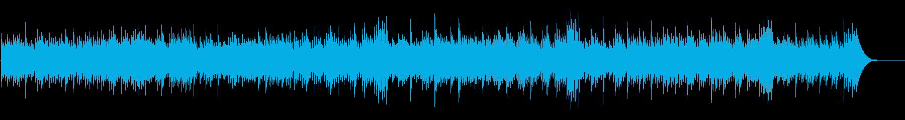 やすらぎのピアノソロの再生済みの波形