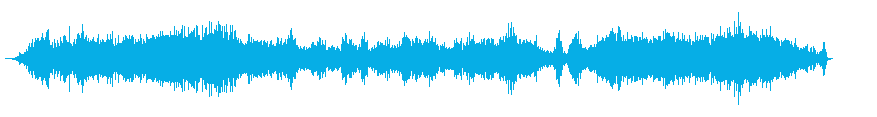 不気味、雑音、闇、何とも言えない奇妙な音の再生済みの波形