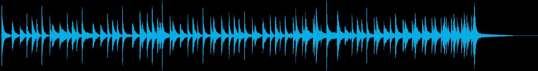 アコースティックドラムセット:ロッ...の再生済みの波形