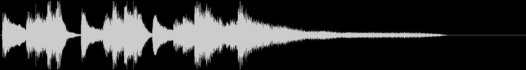 ピアノ・ポップ・ワルツ・アンニュイの未再生の波形