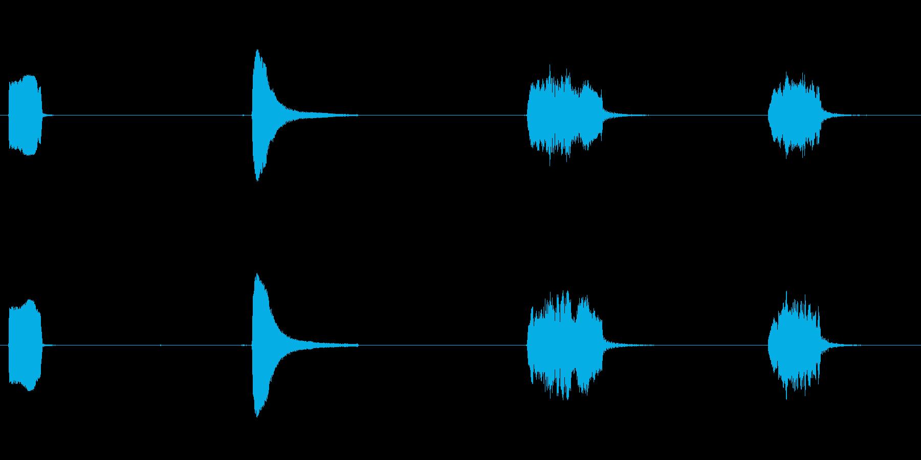 ロケット、小型、口IST、4つのバ...の再生済みの波形