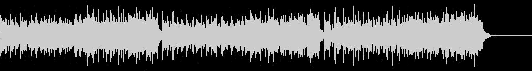 リズムが心地よいエスニック音楽の未再生の波形