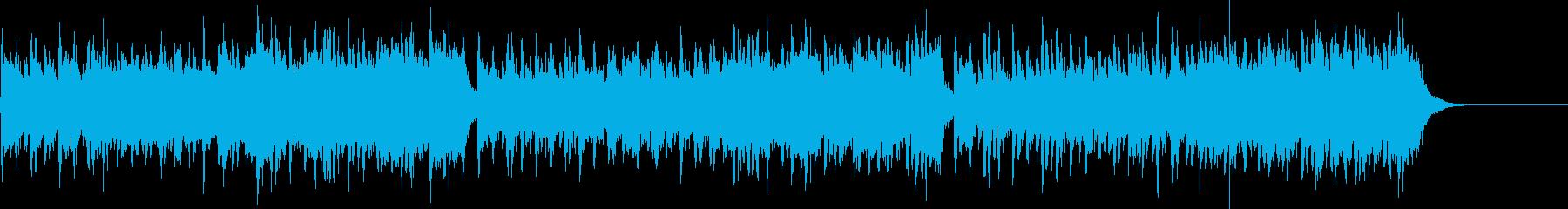 リズムが心地よいエスニック音楽の再生済みの波形