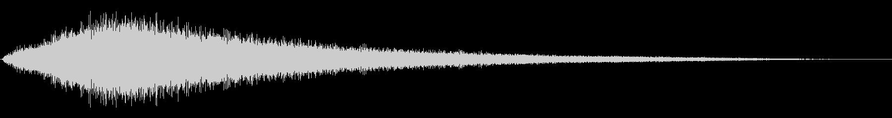シューッという音EC07_72_5の未再生の波形