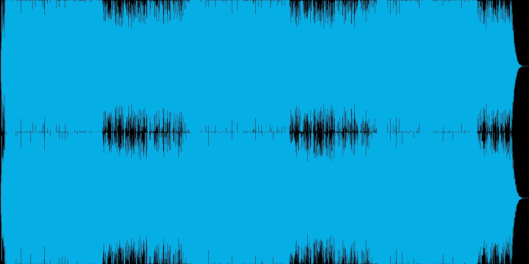 和風EDMでお祭り気分♪の再生済みの波形