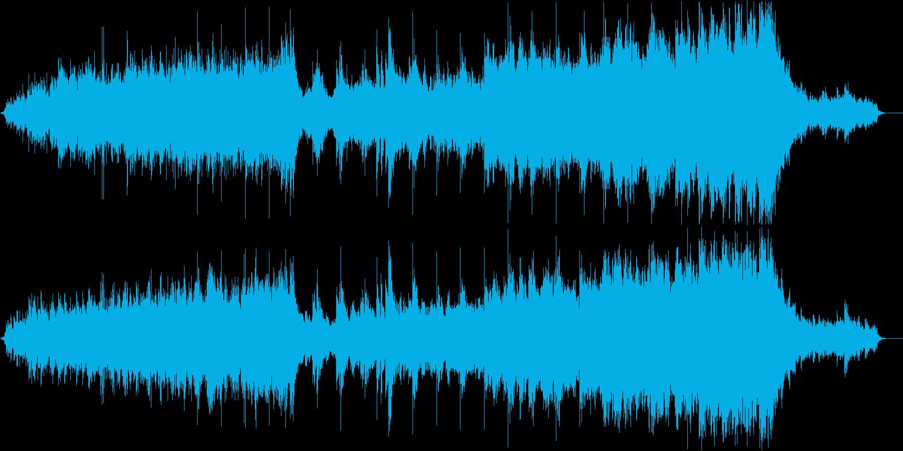 クラシック 交響曲 荘厳 励ましい...の再生済みの波形