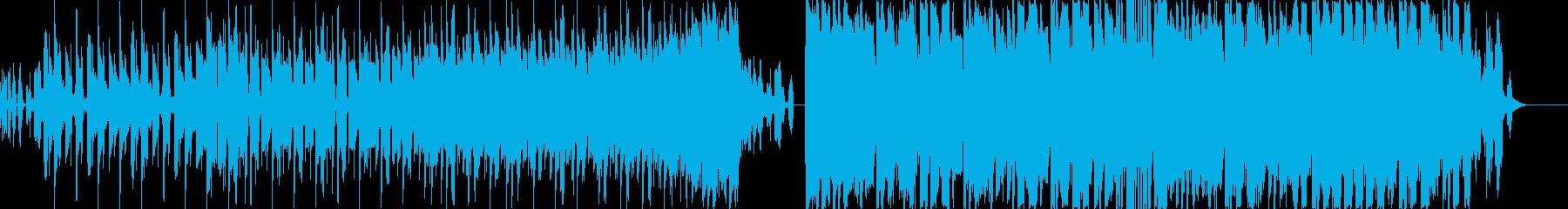 アガるEDM系_最新K-POPの再生済みの波形