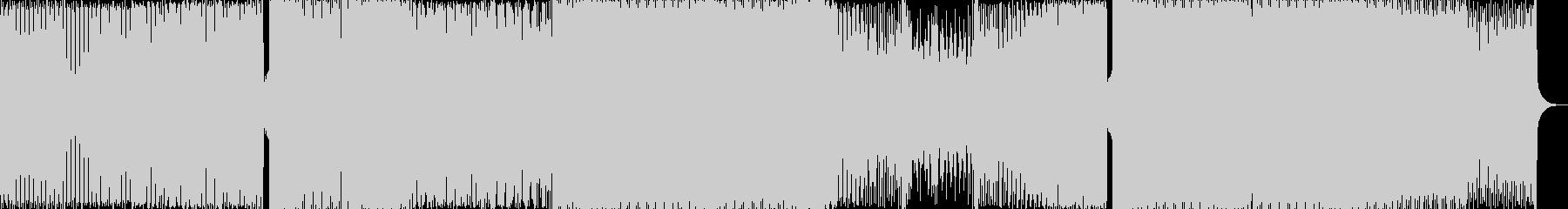 デチューンドハウスと部族の音。の未再生の波形