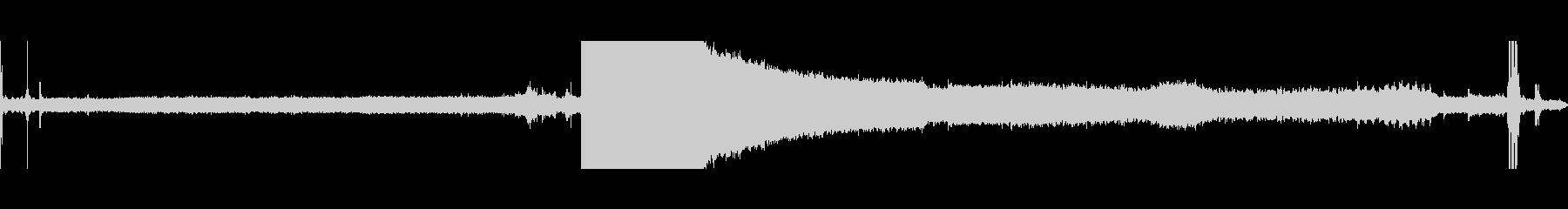 戦車砲塔トラバースの未再生の波形