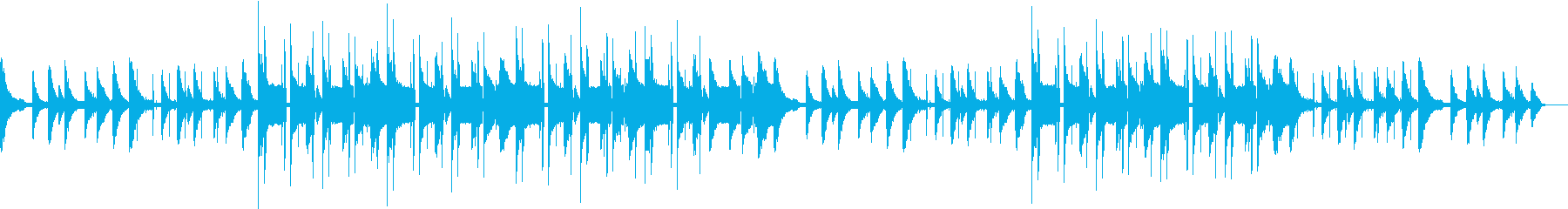 ヒップホップ・チル・ローファイ・カフェ の再生済みの波形