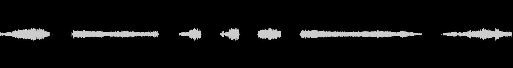 割れ目、7:豊富なマルチトーンの未再生の波形