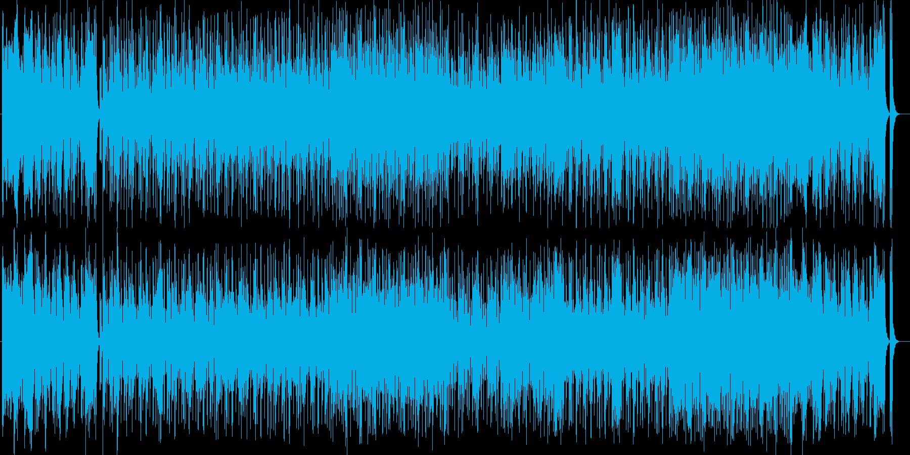 ほのぼのシンセ・ドラムなどポップサウンドの再生済みの波形