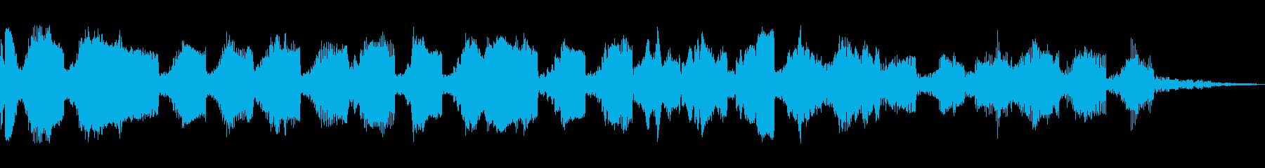 アグレッシブシンセセグ2の再生済みの波形