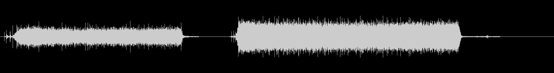 遅い制御されたワードローブの流しの未再生の波形