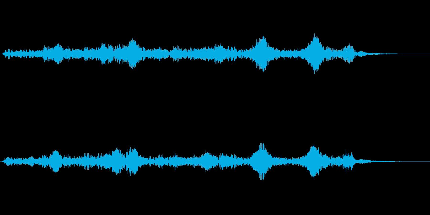 呼吸ドローン、パルス、小惑星フィールドの再生済みの波形