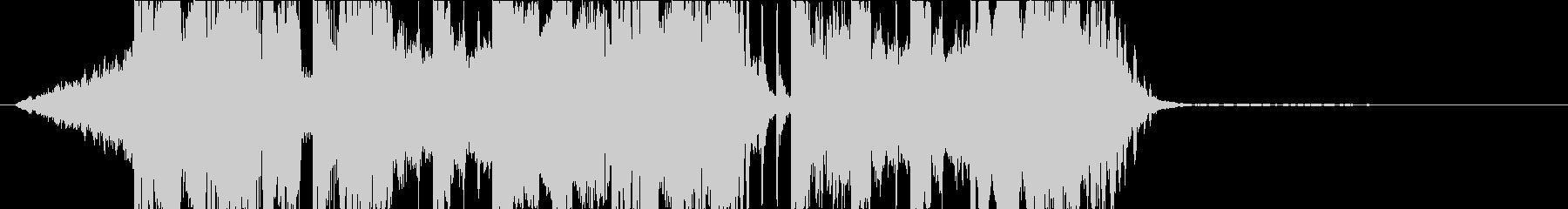 DUBSTEP クール ジングル158の未再生の波形