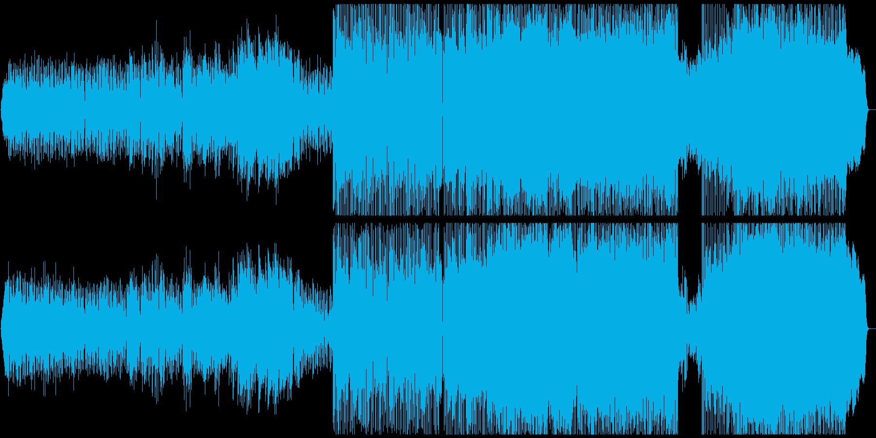 ノスタルジックで優しい雰囲気のバラードの再生済みの波形
