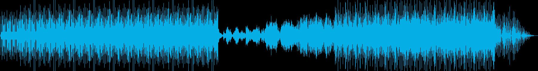 ファンクとテクノが融合したクールな曲の再生済みの波形