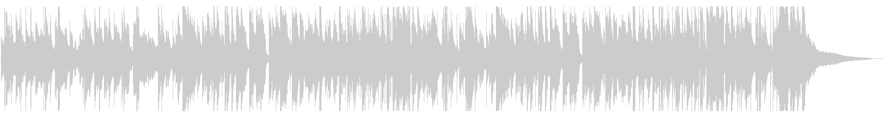 夜・リラックス・ジャズ・スローテンポの未再生の波形