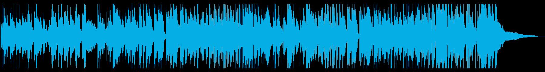 夜・リラックス・ジャズ・スローテンポの再生済みの波形