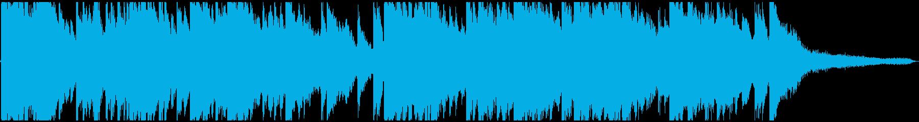 ピアノとガットギターによる切ないバラードの再生済みの波形