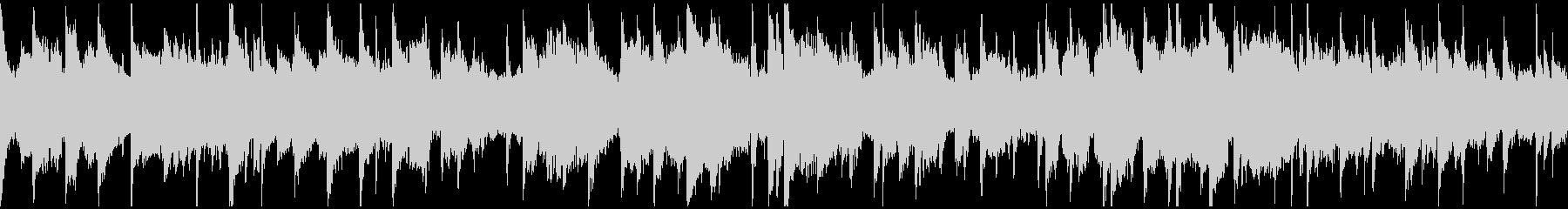 プラネタリウムっぽい幻想的な曲※ループ版の未再生の波形