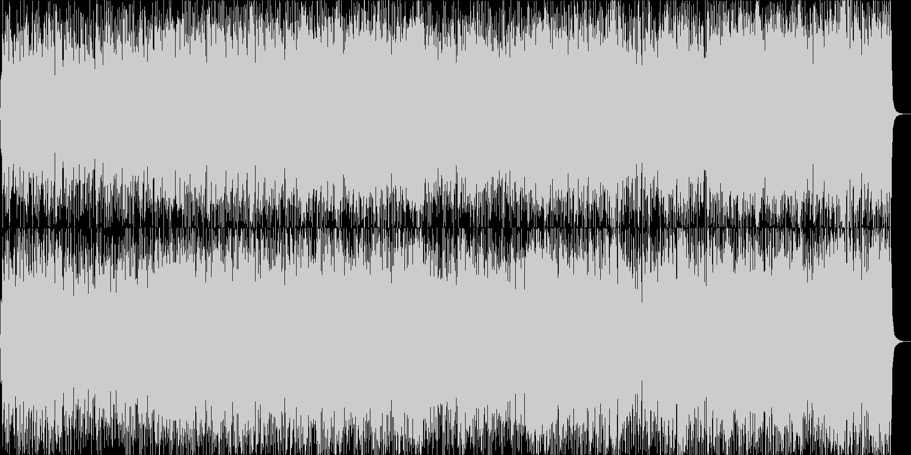 Light BGM with lively flute's unreproduced waveform
