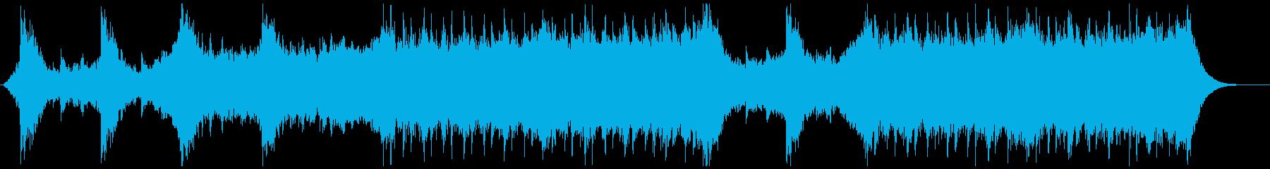 プログレッシブ 交響曲 ポジティブ...の再生済みの波形
