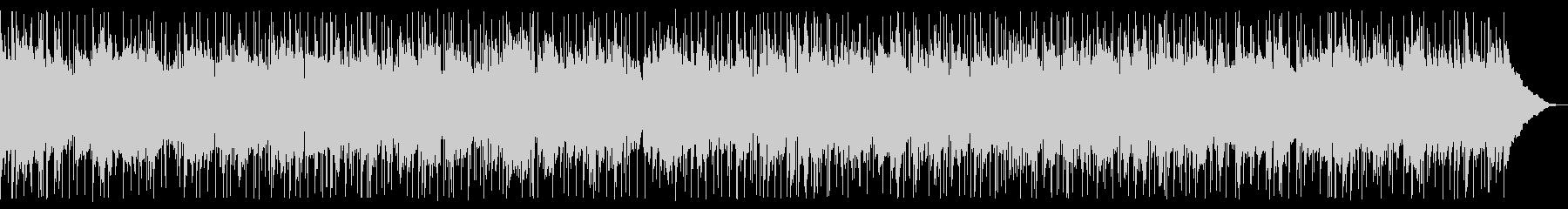 ほのぼのとしたアコースティックサウンドの未再生の波形