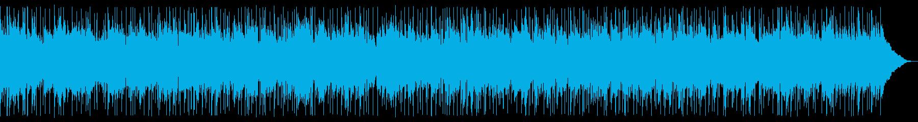 ほのぼのとしたアコースティックサウンドの再生済みの波形
