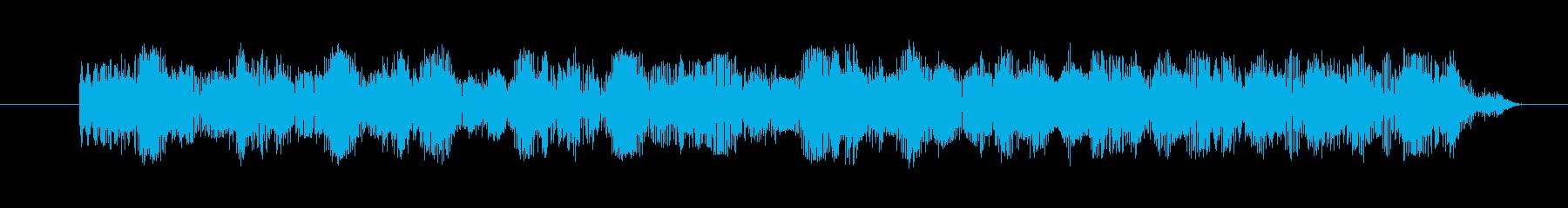 シンセ ショットエレクトロニック03の再生済みの波形