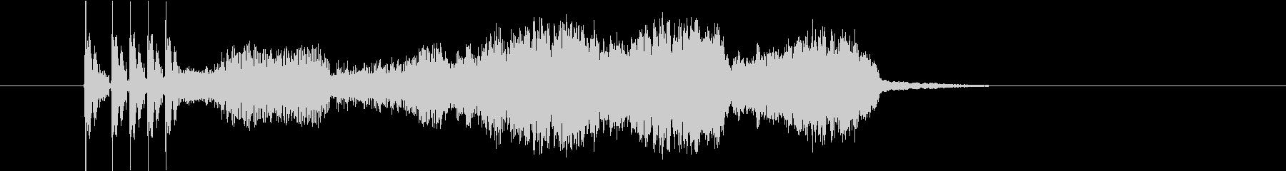 スパイススライスバージョン11の未再生の波形