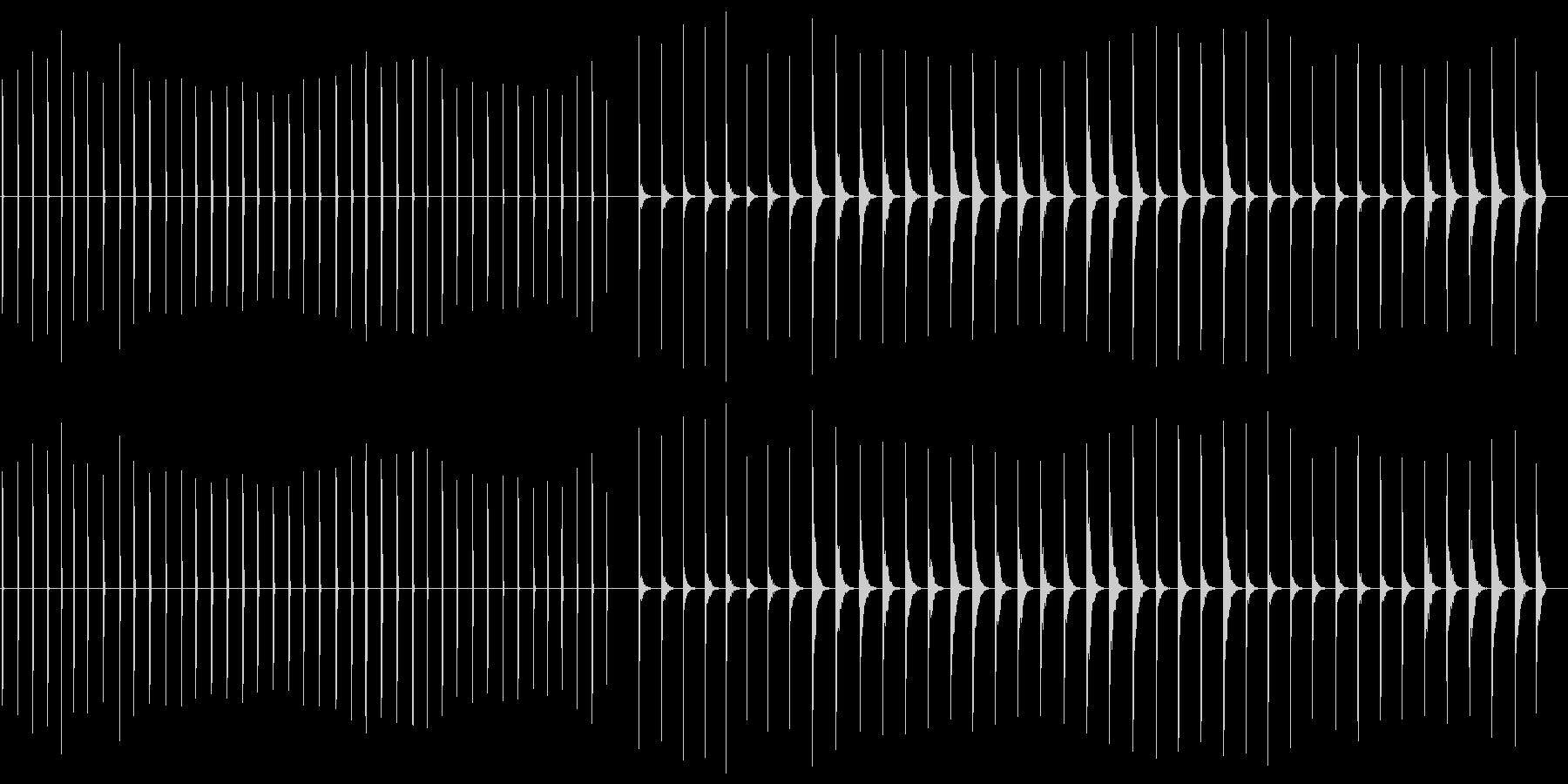 エレクトリッククリック-41バージ...の未再生の波形