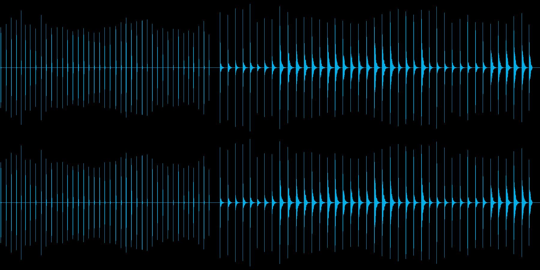 エレクトリッククリック-41バージ...の再生済みの波形