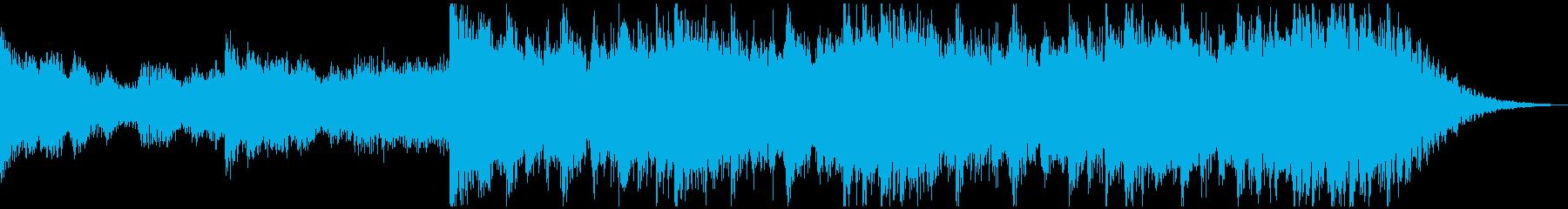 現代の交響曲 神経質 心に強く訴え...の再生済みの波形
