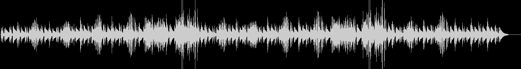 森・散歩・少し不思議なほのぼのピアノソロの未再生の波形