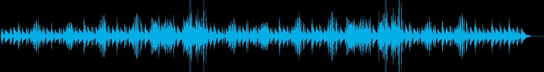 森・散歩・少し不思議なほのぼのピアノソロの再生済みの波形