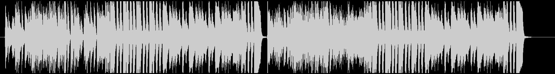 クラシカルで軽快なピアノ曲の未再生の波形