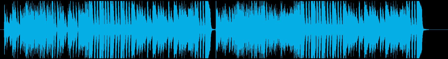 クラシカルで軽快なピアノ曲の再生済みの波形