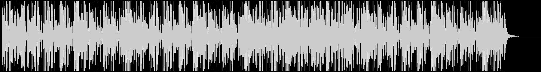 楽しく陽気なエンターティナーのピアノソロの未再生の波形