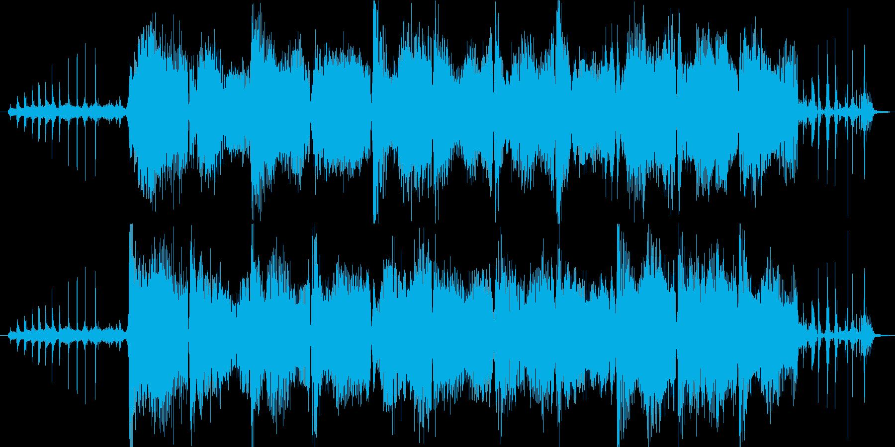 Songの再生済みの波形